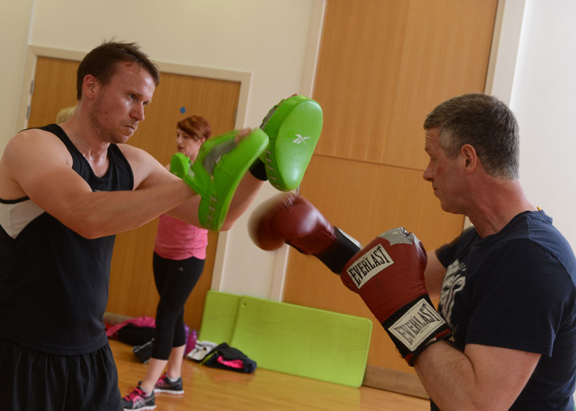 Boxercise at Malvern Active