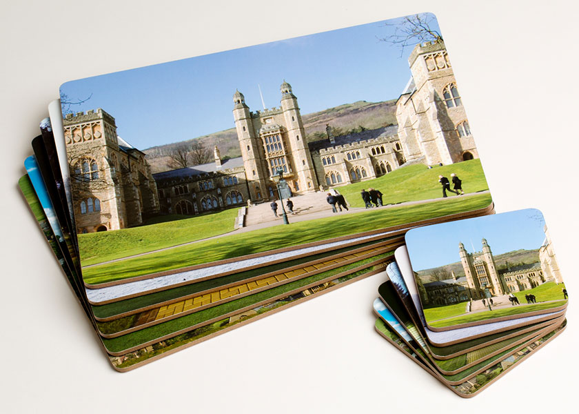 The Malvern Shop Placemats and Coasters