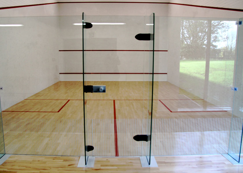squash courts at Malvern Active