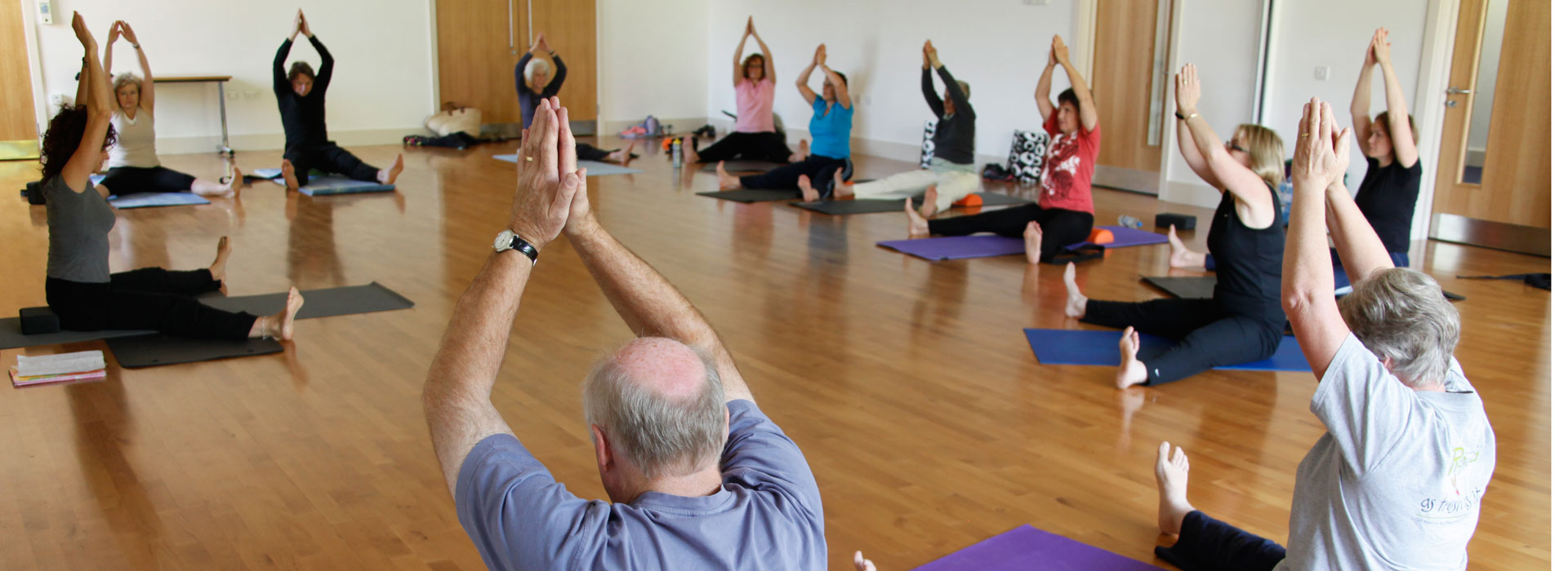 Pilates in the studio at Malvern Active