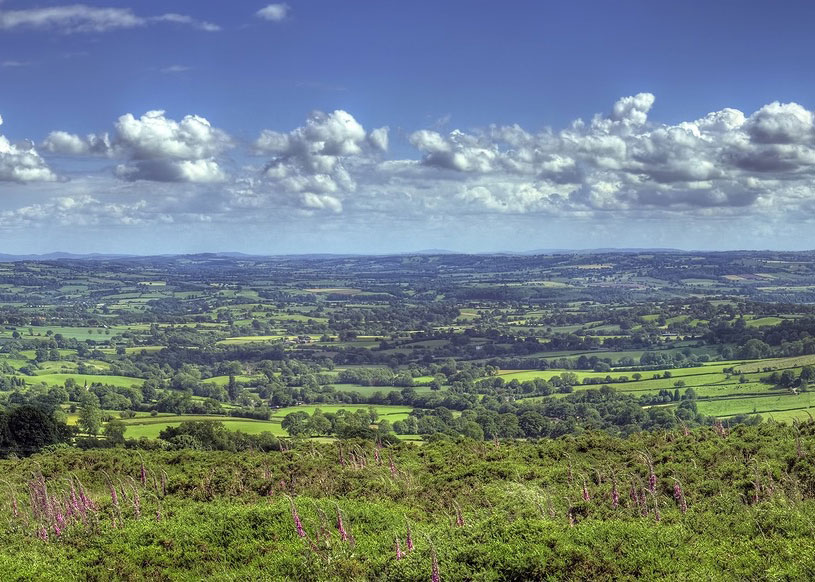 The View of Worcestershire