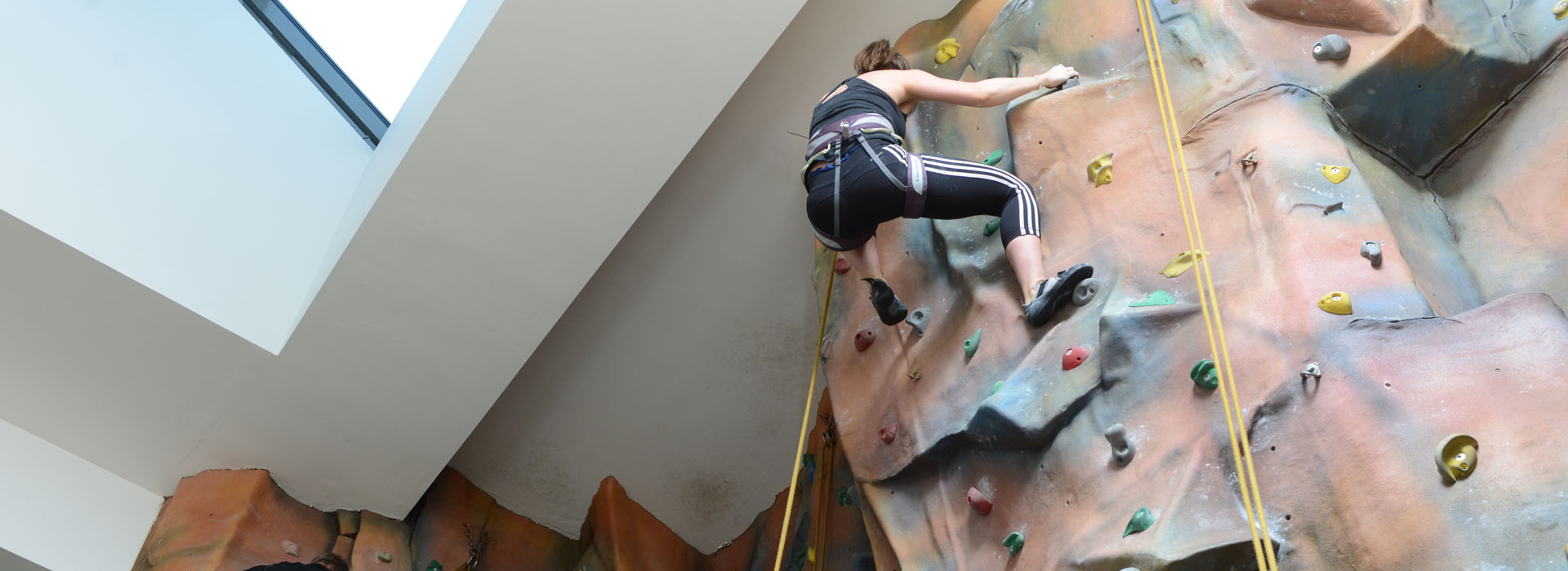 Wall Climbing at Malvern Active