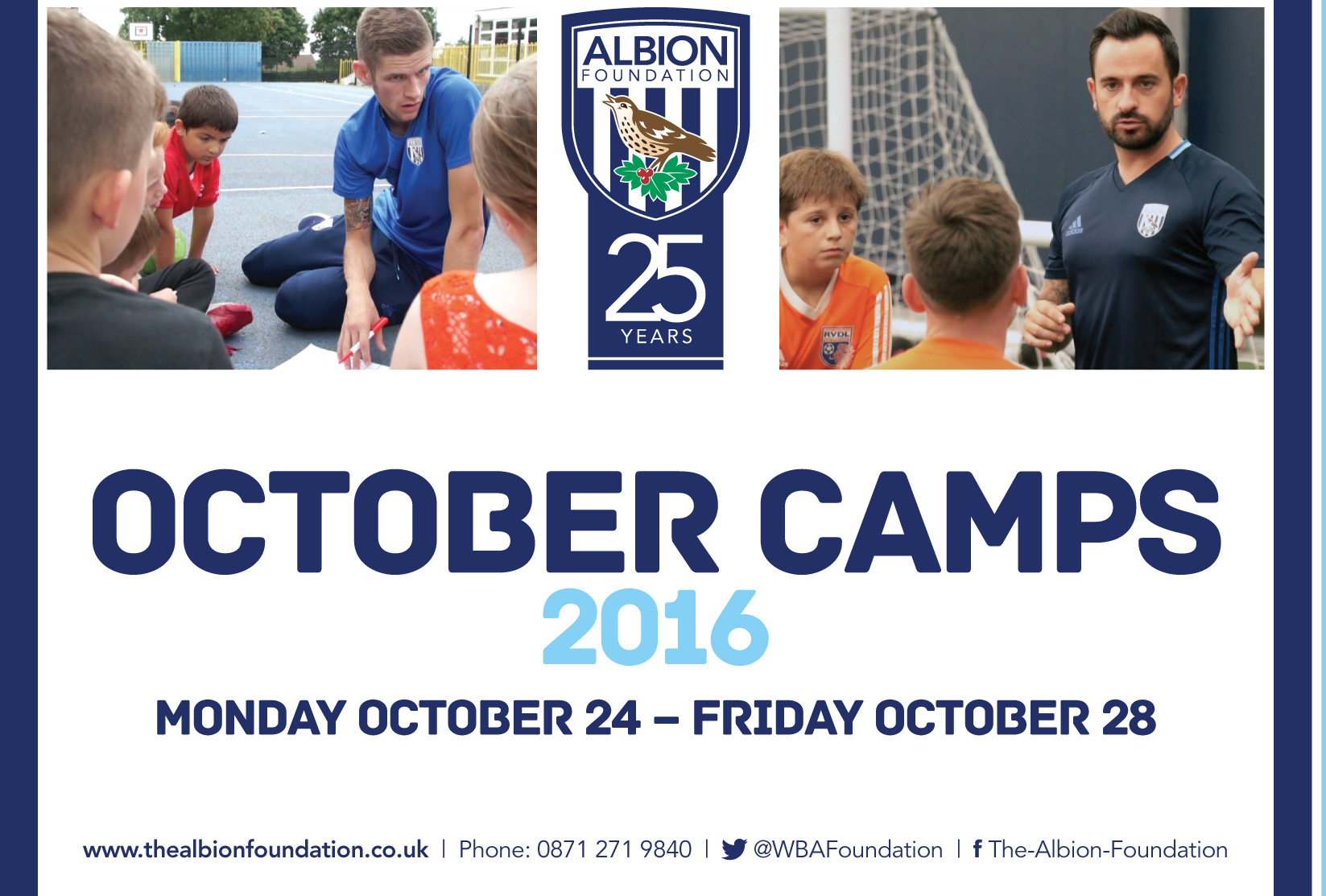 The Albion Foundation Camp poster