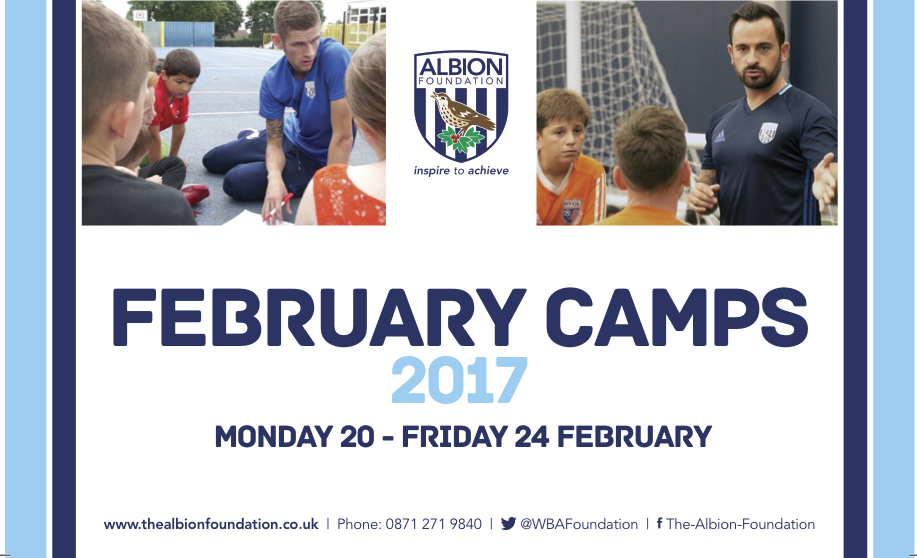 West Bromwhich February Half Term Football Camps at Malvern Active