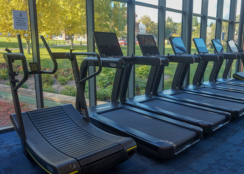 treadmills at Malvern Active